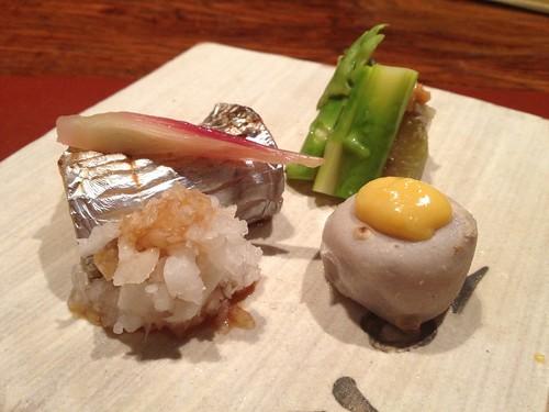 焼物:太刀魚の柚香焼き@暗闇坂宮下 麻布十番