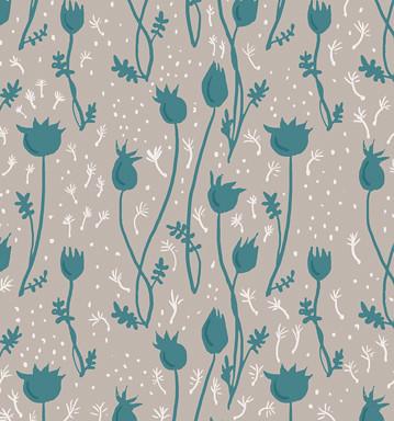 Illustration Friday: Burst (base pattern)
