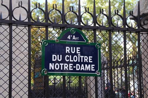 Street along Notre Dame