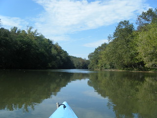 River-like Lake Saluda