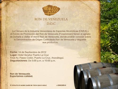 RON DE VENEZUELA PUERTO LA CRUZ