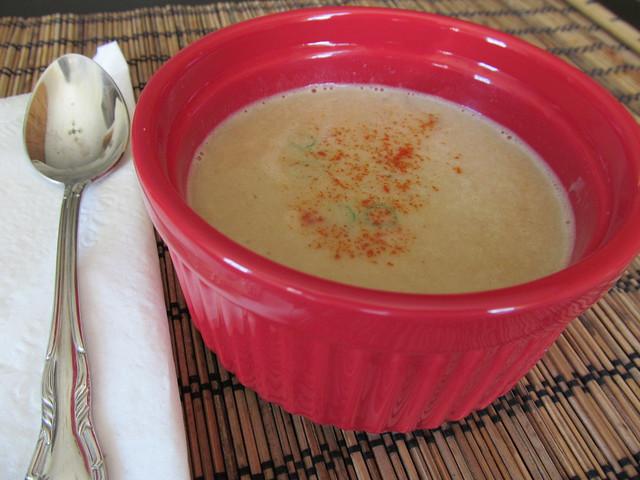 Parsnip Ginger Soup