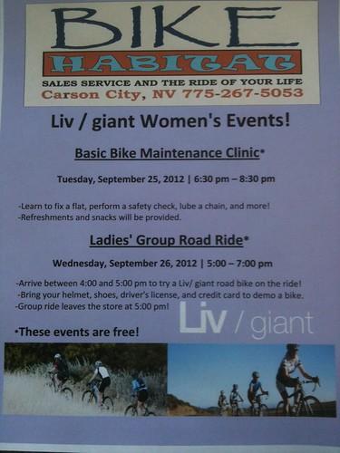 Bike Habitat Events
