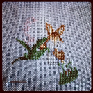 XS bunny in progress