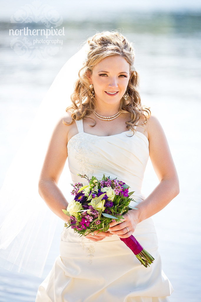 Beautiful Bride - Norman Lake BC