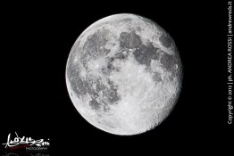 Moon @ tempio di Giove Anxur