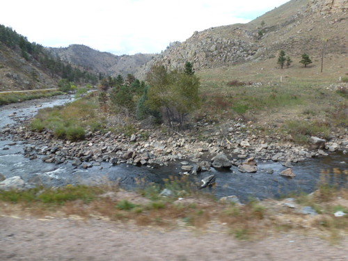 9-25-12 CO - Poudre Canyon Drive3, Poudre River