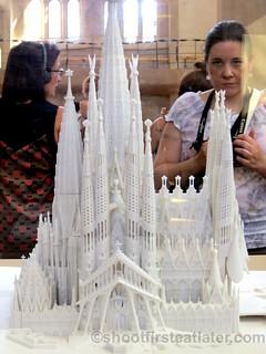 Finished model of Sagrada Familia-003