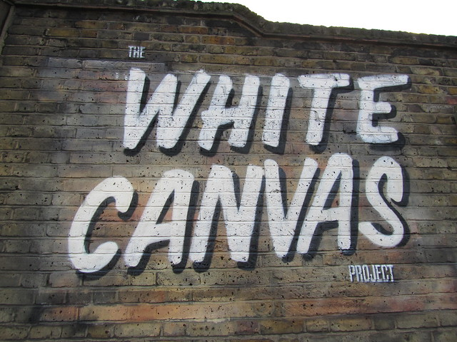 The White canvas Project, Great Eastern Street