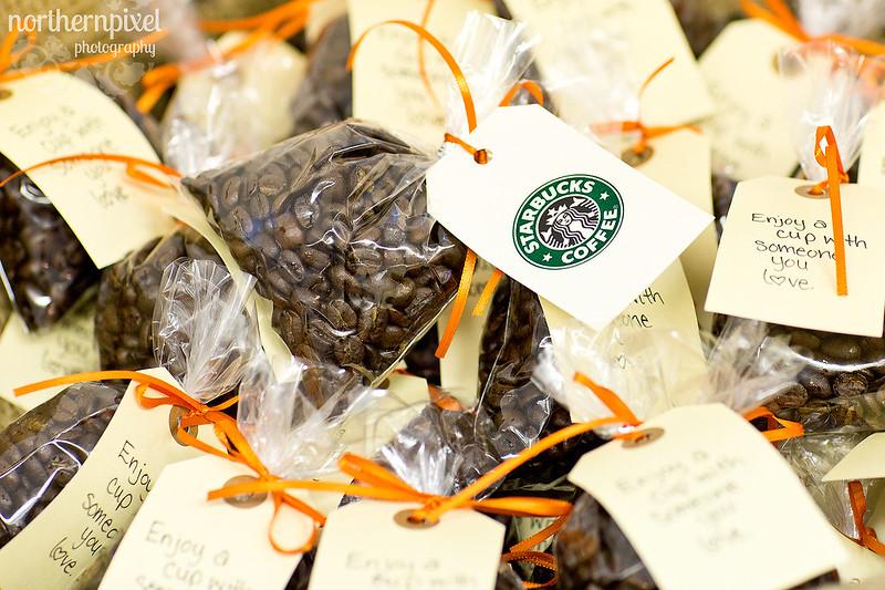 Starbucks Coffee - Wedding Favors
