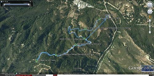 120918 Backbone Trail track