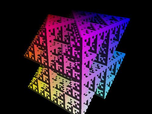 Cube Division Fractal