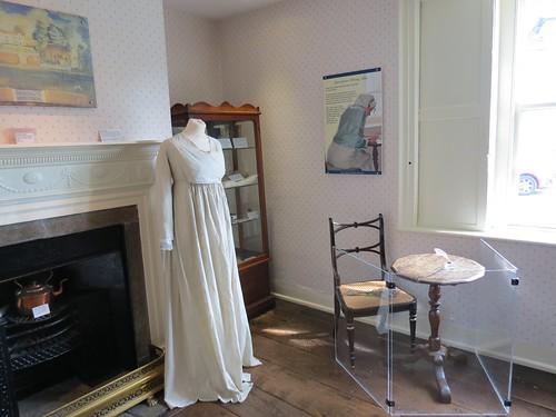 Jane Austens original writing table, Chawton