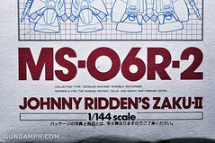 HCM MS-06R-2 Johnny Ridden's Zaku-II (144 scale) 1984 make (6)