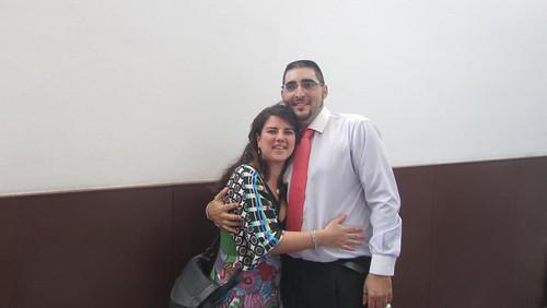 Con Lorena tras leer/defender #SagaPFC