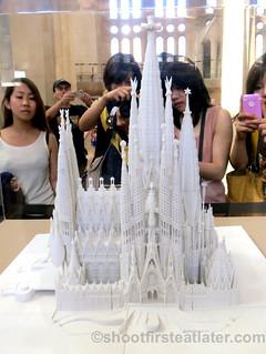 Finished model of Sagrada Familia-001