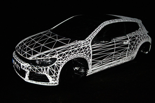 mayer+empl . vw . video mapping sculpture . 2012