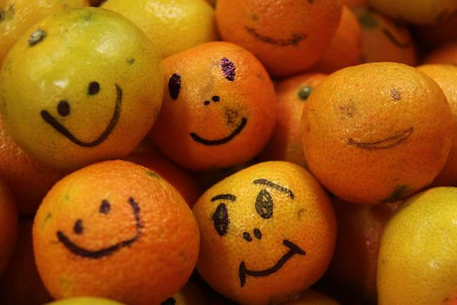 Een mandarijn is fijn!