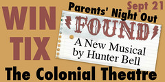 Ticket Giveaway: FOUND at The Colonial Theatre