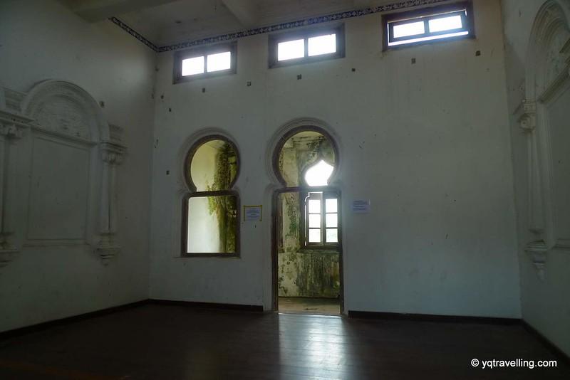 Haunted room at Kellie's Castle