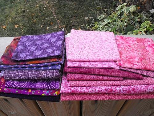 Mod Pop QAL fabrics 1