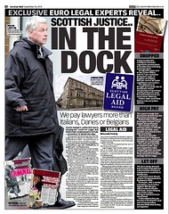 Scottish justice in the Dock - Sunday Mail 30 September 2012