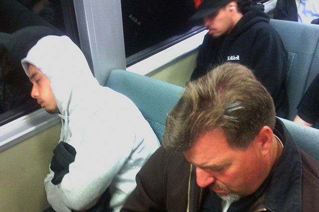 Sleepy Time on BART