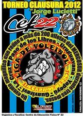 poster liga  CLAUSURA 2012