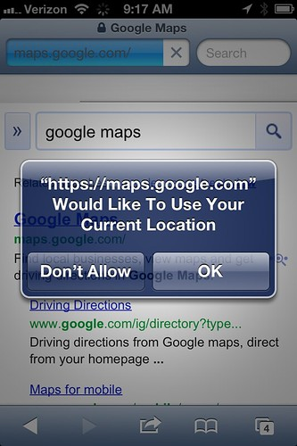 Google Maps iOS6