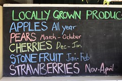 Local Fruit Produce