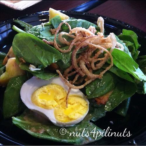 Heirloom Tomato & Salted Duck Egg Salad   Flip Night @thepointfeedsme #thepointfeedsme #filipinofood
