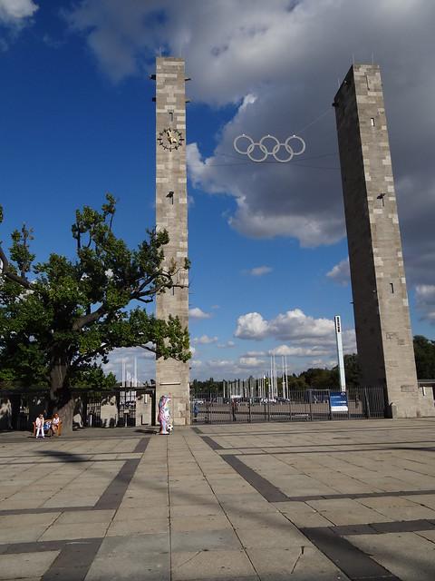 The Berlin 1936 Olympic Stadium Entrance