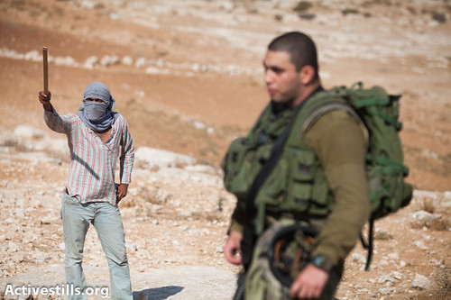 Solidarity march, South Hebron Hills, West Bank, 22.9.2012