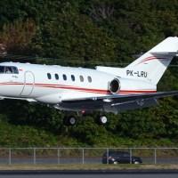 PK-LRU Hawker 900XP #BFI