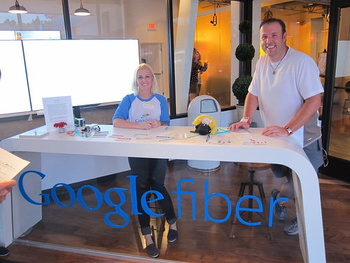 Mario at Google Fiber - Kansas City, MO