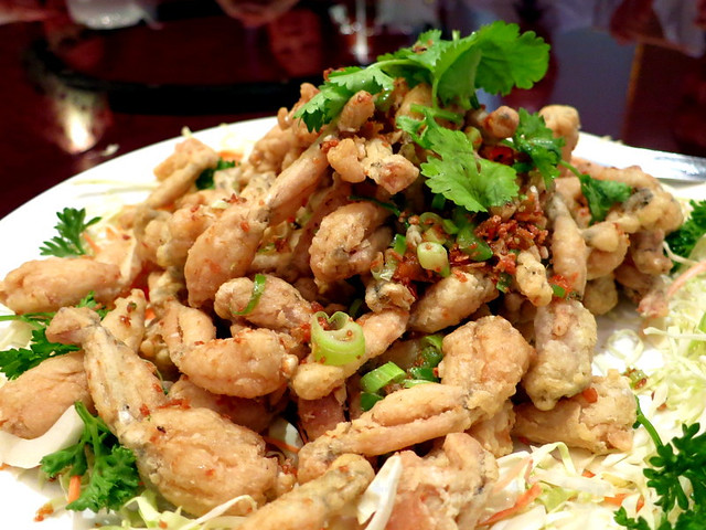 Annapolis Seafood Palace- fried frogs legs with salt & pepper P800 (large)
