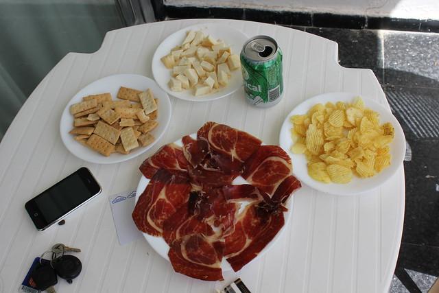 Nuestra primera comida en Gran Canaria