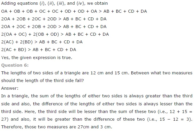 NCERT Solutions for Class 7 Maths Chapter 6 The Triangle and its Properties Ex 6.4 2