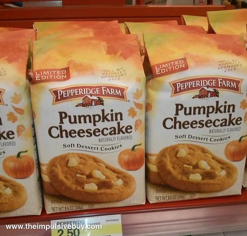 Pepperidge Farm Pumpkin Cheesecake