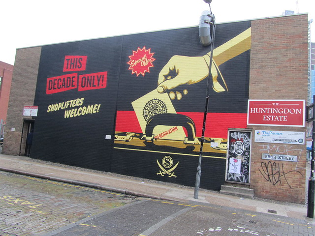 Shepard Fairey, Shoreditch