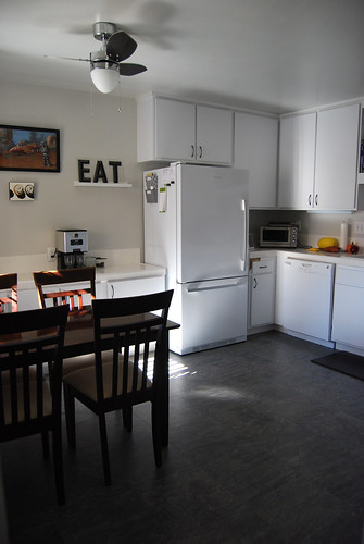 Kitchen wide with table