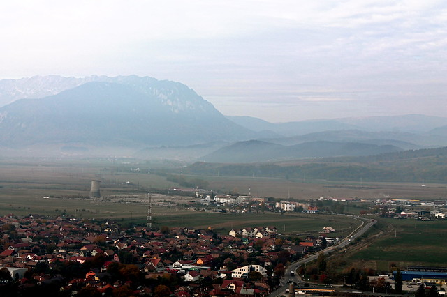 View from Rasnov
