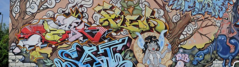 Fitroy street art