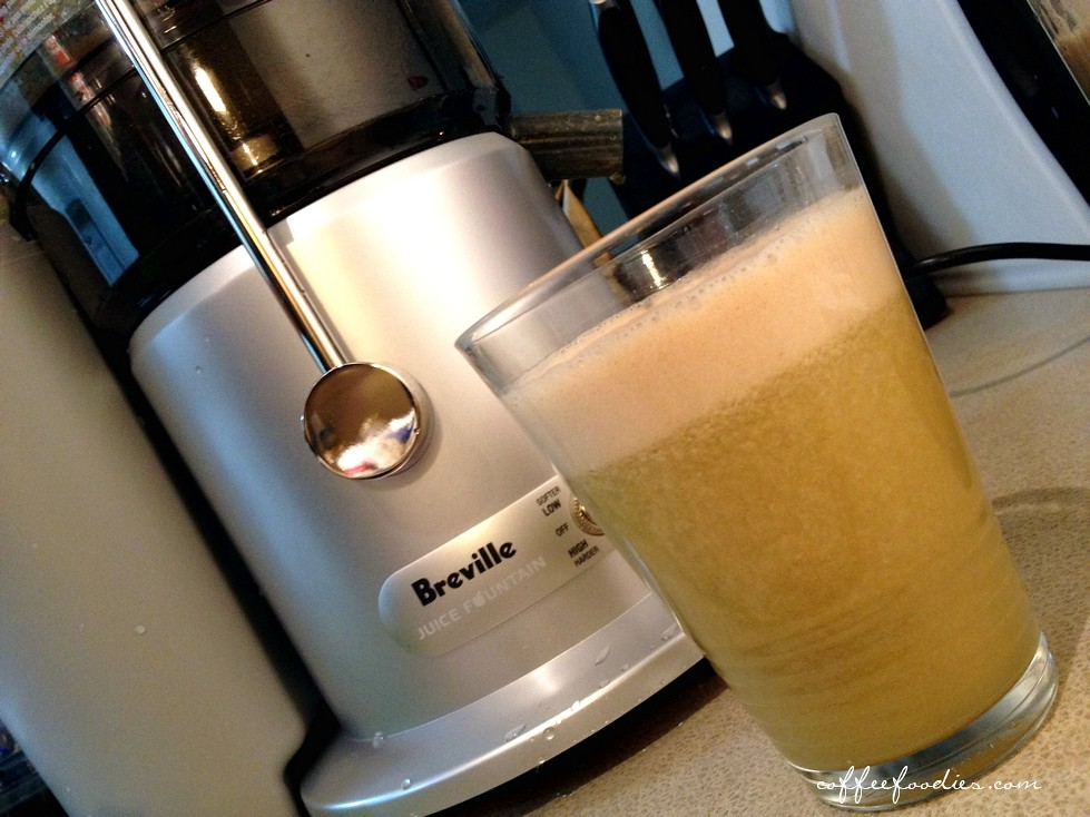 BREVILLE FOUNTAIN PLUS JUICER