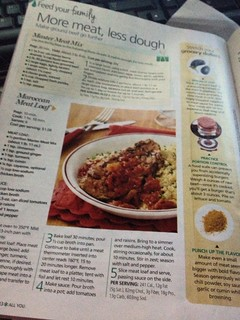 Moroccan Meat Loaf - All You Jan. 2013