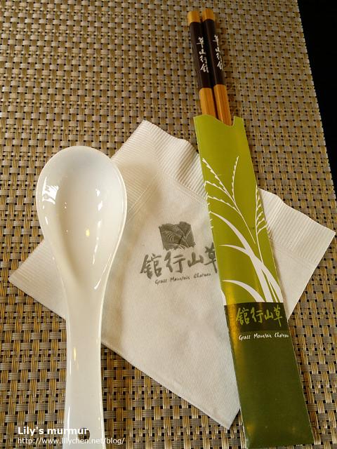 這木筷用完餐可以帶回家當紀念或者平常使用,我每次用都想起這裡的用餐經驗,很不錯的小禮。