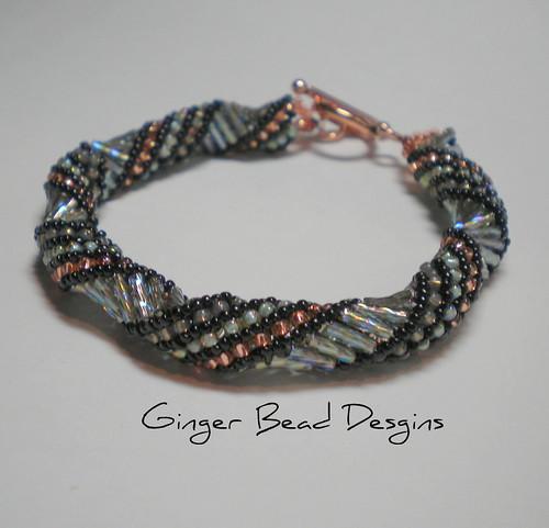 Bugle Bead Russian Spiral