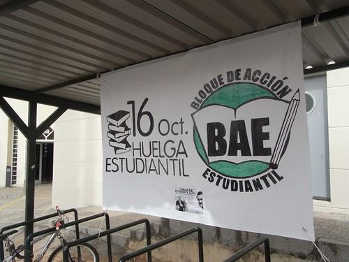 Huelga de estudiantes convocada en Córdoba para el miércoles 16 de octubre.