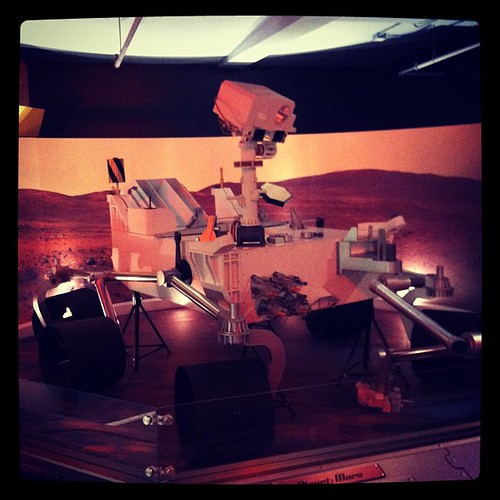 And then we went to Mars and saw Curiousity.
