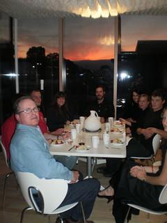 Dinner in Solar Decathlon North House 2009
